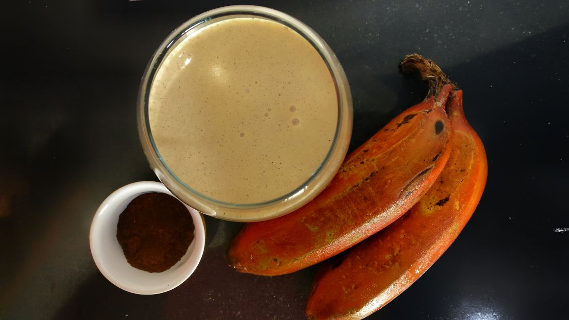 banana coffee kefir