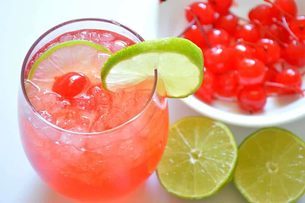 CHERRY LIMEADE WATER KEFIR