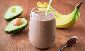 CHOCOLATE COCONUT KEFIR SMOOTHIE
