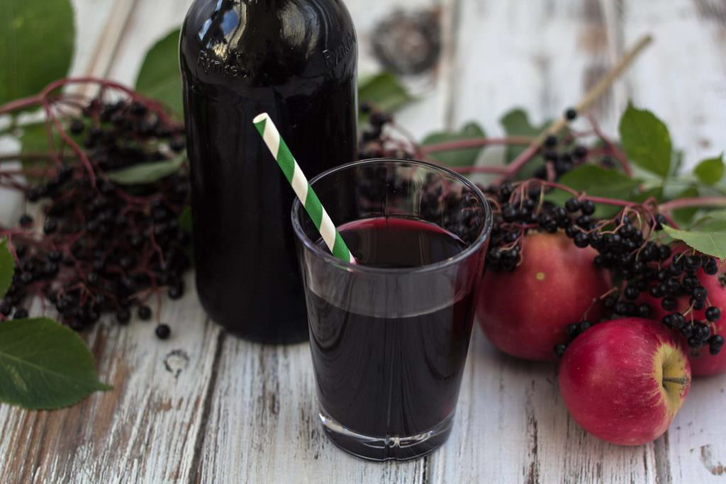 ELDERBERRY WATER KEFIR